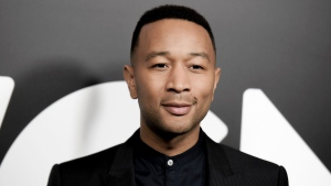 John Legend attends a photo call for WGN America's 'Underground' at the CTAM portion of the 2017 Winter Television Critics Association press tour in Pasadena, Calif. on Friday, Jan. 13, 2017. (Richard Shotwell / Invision)
