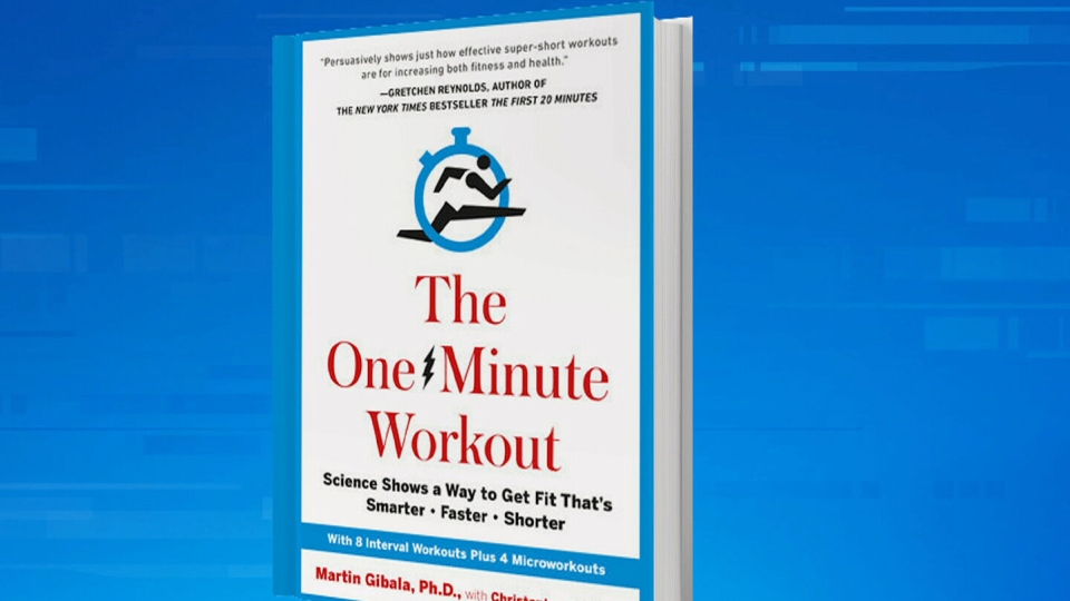 'The One Minute Workout' offers research-based tips on improving your fitness.
