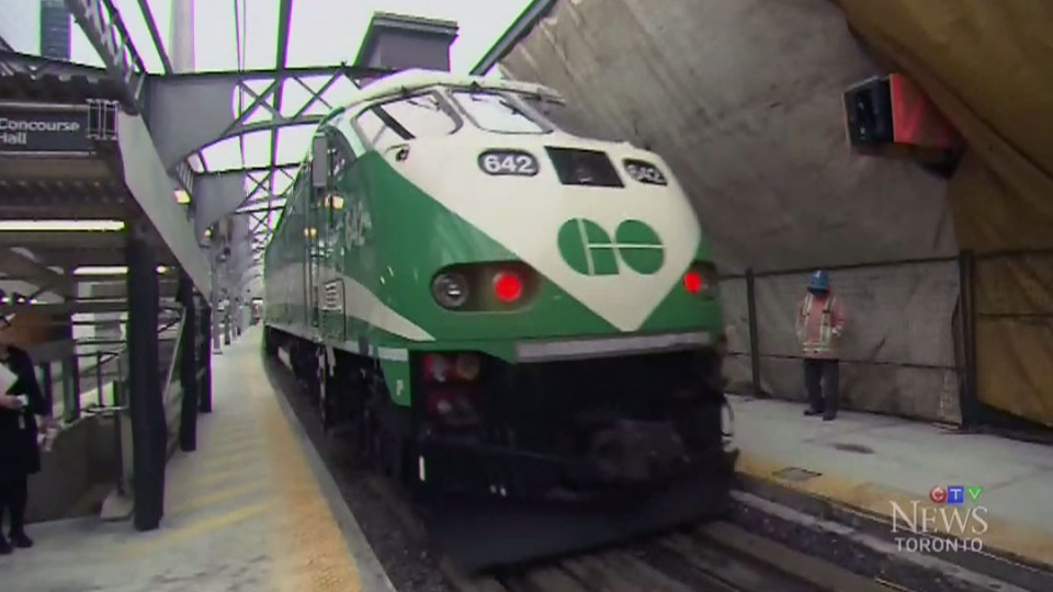 Researchers studied diesel exhaust in trains travelling from the GTA to downtown Toronto in 2015.