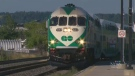 A GO Transit commuter train is shown in this file photo.