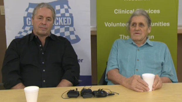 Bret and Smith Hart know far too well the devastation of a late detection of prostate cancer