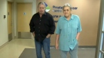 Bret and Smith Hart - prostate centre
