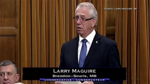 Manitoba MP Larry Maguire