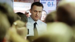 Alexei Navalny in St. Petersburg, Russia, on Feb. 4, 2017. (Elena Ignatyeva / AP)