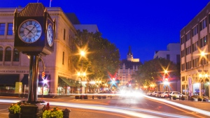Saskatoon's downtown is shown here in this CTV file photo.