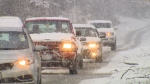Parts of the Fraser Valley could see as much as 25 centimetres of snow by Saturday evening, Environment Canada said in a weather warning.