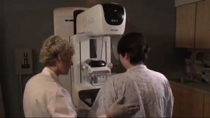 3D mammogram or digital tomosynthesis.