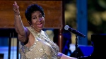 Aretha Franklin performs at the International Jazz Day Concert on the South Lawn of the White House of the Washington, on April 29, 2016. (AP / Carolyn Kaster)