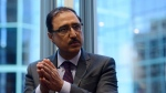 Infrastructure and Communities Minister Amarjeet Sohi takes part in an interview at his office in Ottawa on June 23, 2016. (Sean Kilpatrick / THE CANADIAN PRESS)