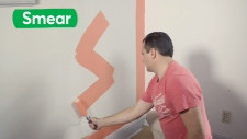 smear paint
