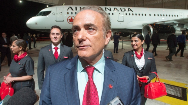 Air Canada CEO Cavin Rovinescu