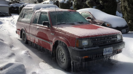 Some residents in Abbotsford and Chilliwack, B.C., woke up to find streets, sidewalks, cars, power lines and trees coated in thick layers of ice, with weather officials warning more freezing rain is on the way for the region. (Penny Daflos)