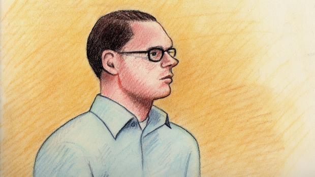Carson Morin, court sketch