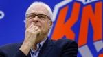 New York Knicks president Phil Jackson in Greenburgh, N.Y., on July 8, 2016. (Julie Jacobson / AP)