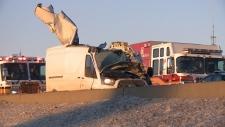 Fatal collision on 417