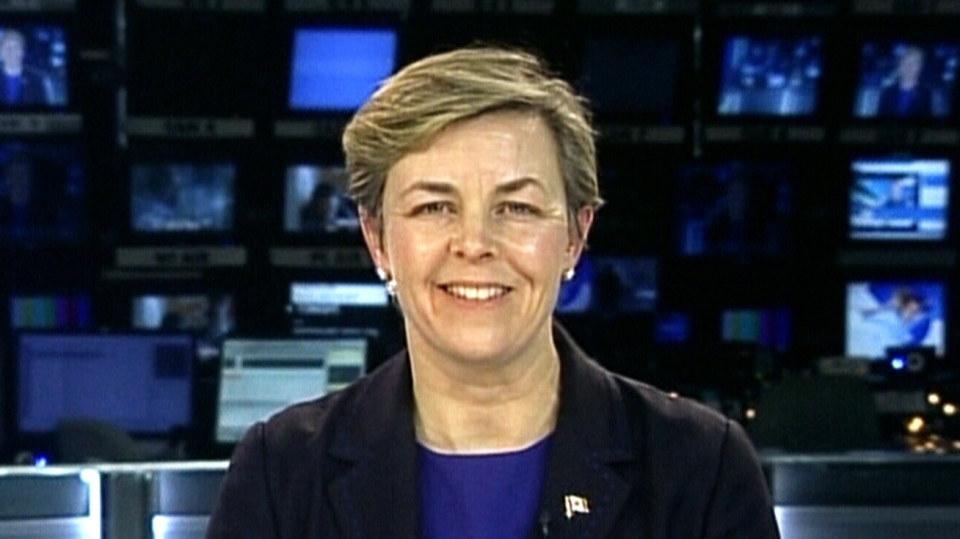 Conservative leadership hopeful Kellie Leitch speaks to CTV's Power Play on Feb. 10, 2017.