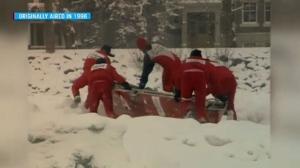 Flashback: CFD ice canoeists