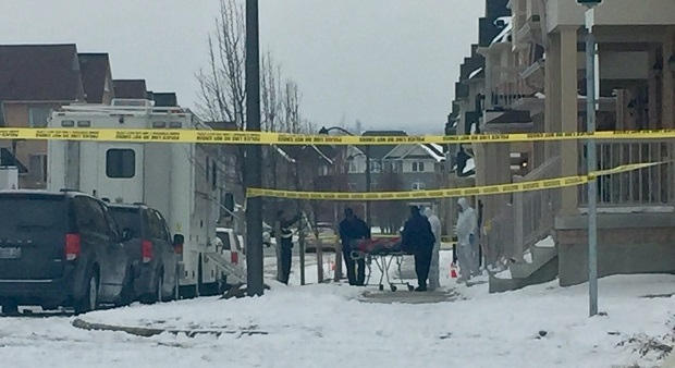 Police are investigating a shooting in Ajax that happened overnight.