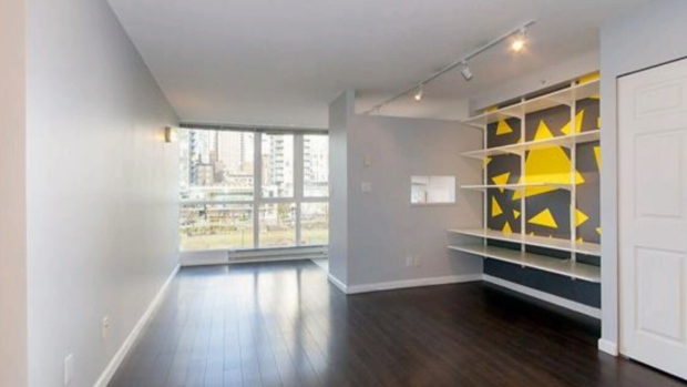 This 415-square-foot studio in Vancouver's Yaletown neighbourhood sold for $24,000 over asking.