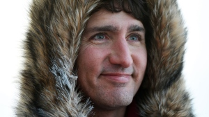 Prime Minister Justin Trudeau holds a media availability as he visits Iqaluit, Nunavut on Thursday, Feb. 9, 2017. The Conservative party is offering support to Trudeau as he prepares to meet with U.S. President Donald Trump on Monday. THE CANADIAN PRESS/Sean Kilpatrick