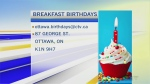 CTV Morning Live Birthdays