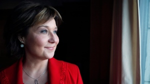Premier Christy Clark is photographed during a year end interview with The Canadian Press in her office at the Provincial Legislature in Victoria, B.C., Friday, December 16, 2016. (Chad Hipolito/The Canadian Press)