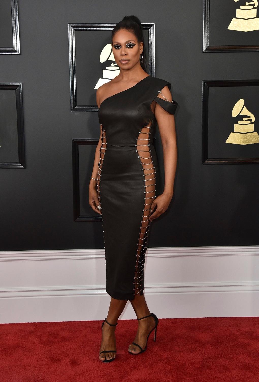 59th Grammys: Plunging necklines, explosive performances