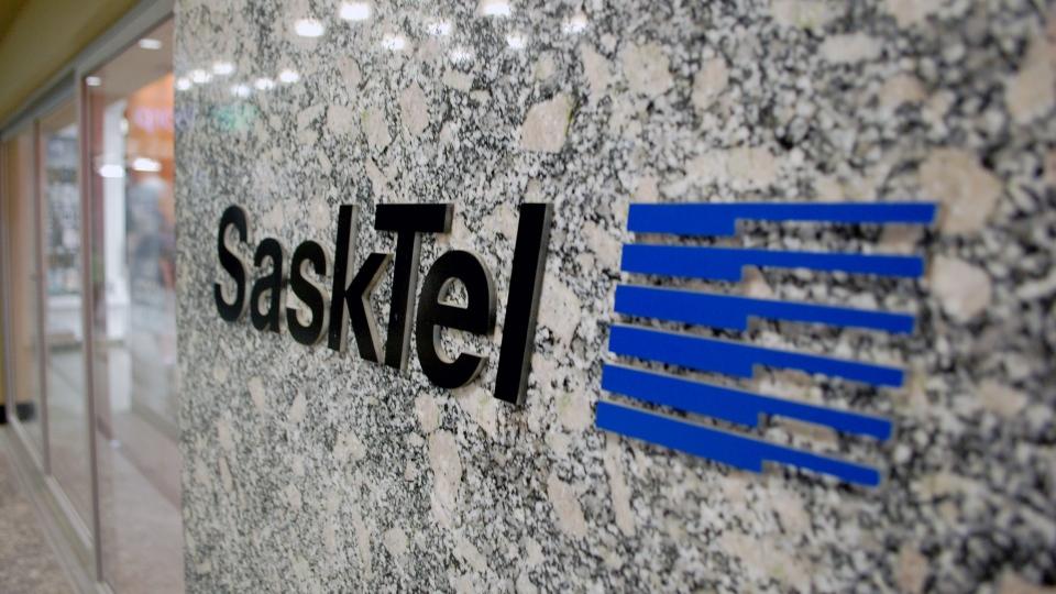 A SaskTel store is shown here in downtown Saskatoon. (Kevin Menz/CTV Saskatoon)