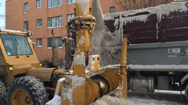 Snow clearing Montreal
