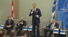 Conservative debate in Montreal