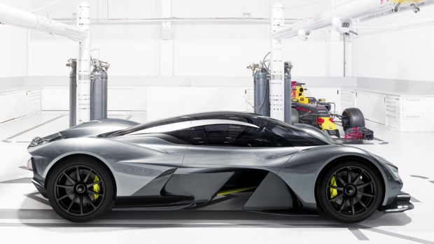 The AM-RB001 hypercar. (Aston Martin Lagonda Ltd.)