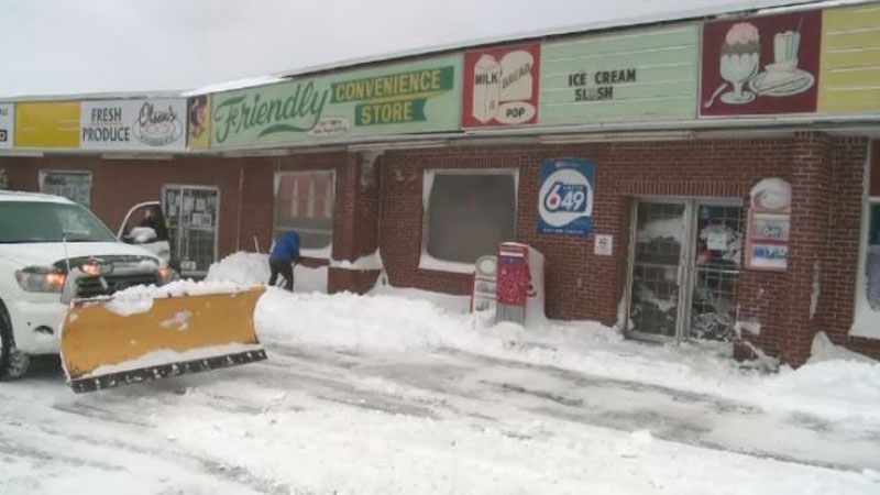 A Saint John man who left his home at the height of Monday's storm to go to a convenience store has been found dead.