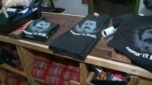 The St. Boniface Museum marked Louis Riel Day in 2016 with fiddlers, artifacts and merchandise. (File Image)
