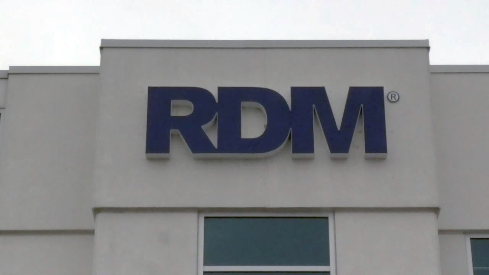 The RDM Corporation building on Kumpf Drive in Waterloo is shown on Tuesday, Feb. 14, 2017.