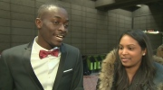 Mater Diouf proposed to his bride Tania Gokhool in the Lionel Groulx metro station