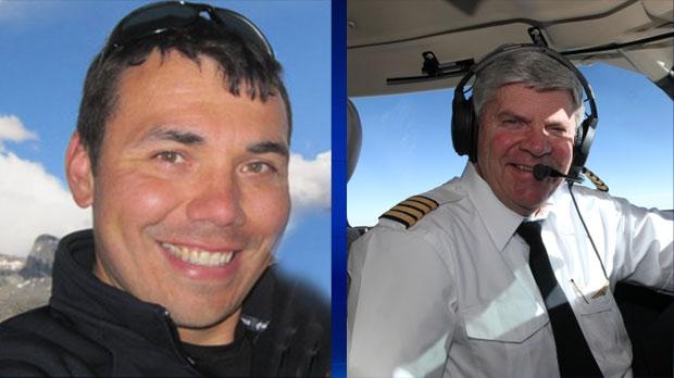 MRU flight instructors Jeff Bird and Reyn Johnson were killed in a plane crash west of Calgary on February 13, 2017. (Courtesy: Facebook & MRU)