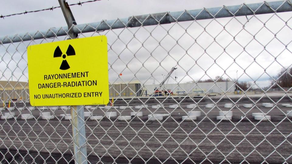 Ontario Power Generation nuclear waste Lake Huron