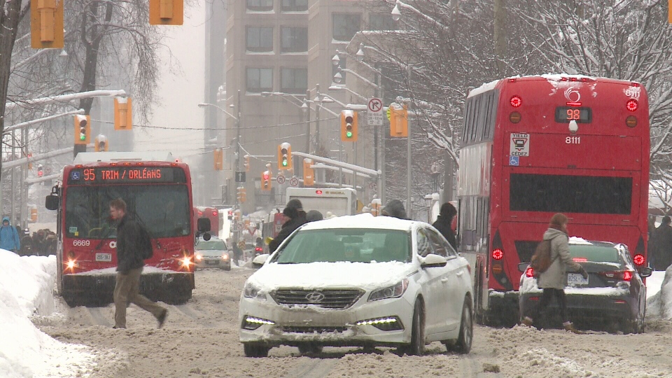 An early morning blast of snow led to another slow and frustrating commute in the capital on Wednesday, Feb. 15, 2017
