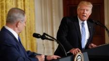Netanyahu and Trump at the White House