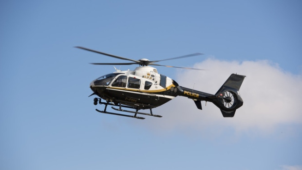 OPP helicopter (Supplied)