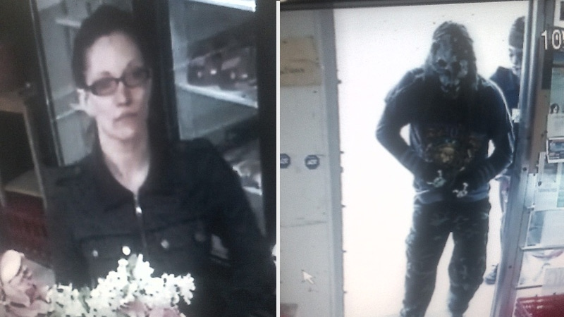 Supplied suspect pictures