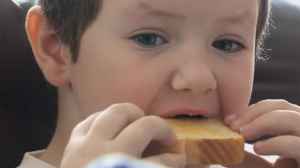 Blake Chapman, age 5, has autism