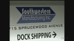 An electrical contractor was injured while working at Southwestern Manufacturing on Wednesday, Feb. 15, 2017. (CTV Windsor)