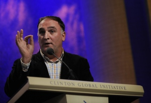 Chef Jose Andres is shown in this undated photo. (AFP / Stephen Chernin)