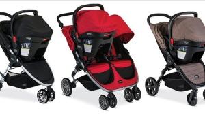 Britax B-Agile and BOB Motion Strollers (source: us.britax.com)