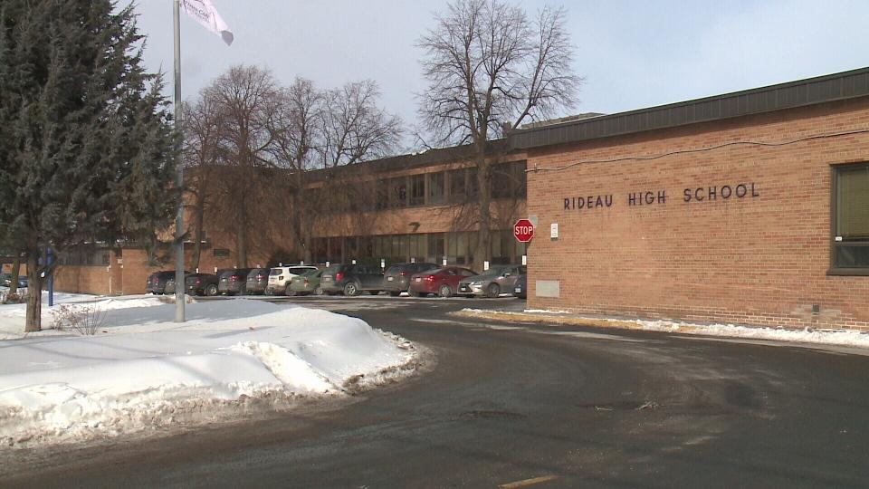 Rideau High School on St Laurent Blvd in Ottawa, Ont.