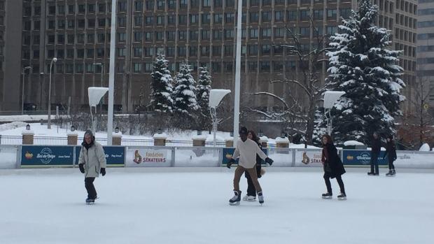 Refugee skating