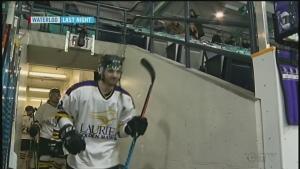 Hawks rally to win OUA men's hockey series opener