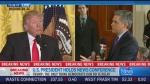 CTV News Channel: Trump, CNN reporter spar