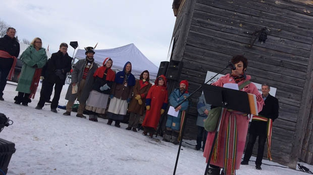 Winnipeg celebrates Festival Du Voyageur, the largest winter festival in Western Canada. (Michelle Gerwing/CTV Winnipeg)